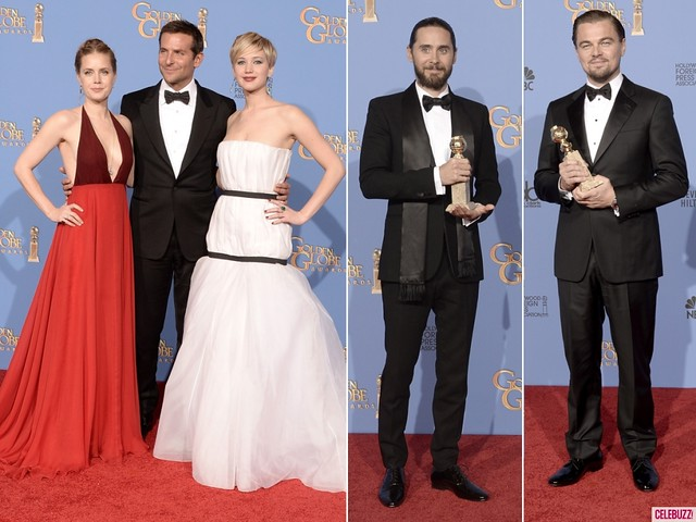 The winners of Golden Globes last night