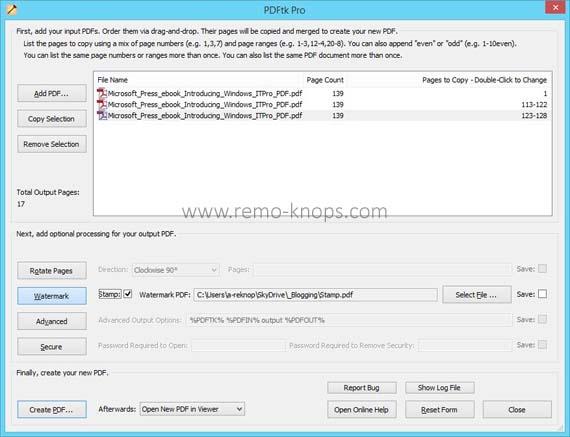 PDFtk Pro screenshot 33