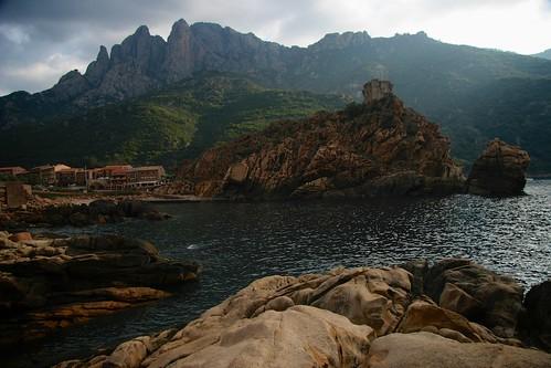 Genoese fort, Porto, Corsica