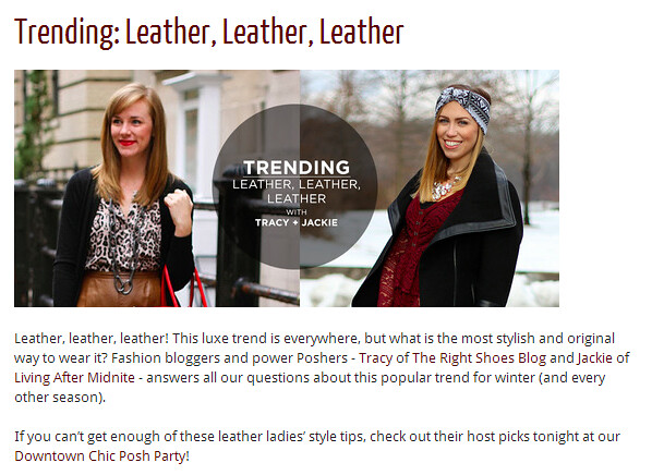 Living After Midnite Feature on Poshmark Blog