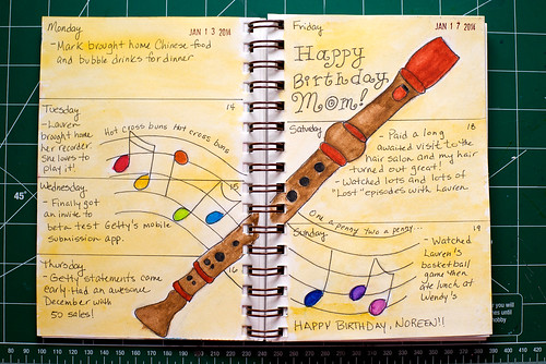 2014 Sketch Journal - Week 3