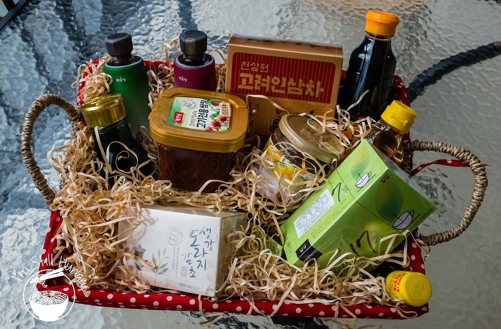 korean banquet showcase gift package