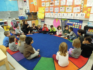 A pre-k class at PS 261