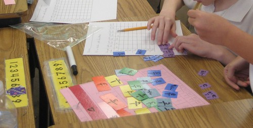 Can you make one-half out of tenths? What fractions can you use to make one-third, one-fourth, one-fifth? (March 2011, Gr 4)