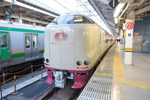 東京駅 サンライズ出雲