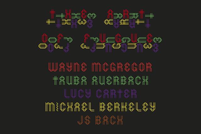Wayne McGregor's Tetractys - The Art of Fugue © ROH 2014