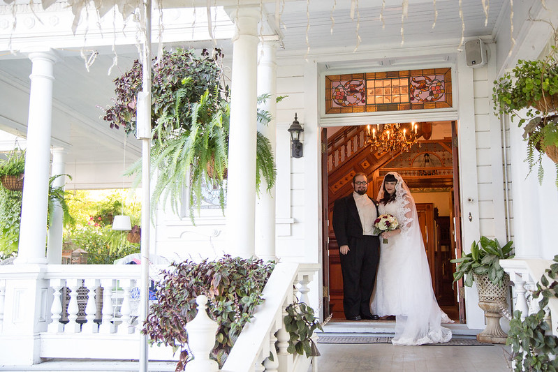 Shana Amp Micahs Victorian Wedding With A Dad Moon