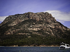 Mt Mayson, seen from Coles Bay