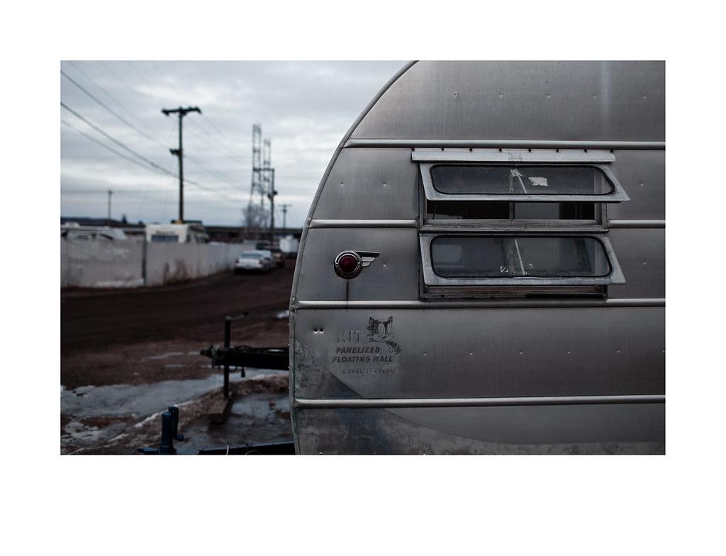 Trailer in salvage yard | Richard C  Johnson | Flickr