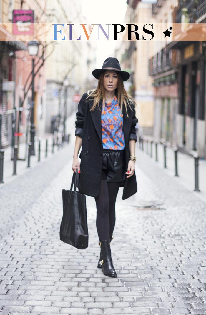 street style barbara crespo eleven paris tshirt colors hat fashion blogger outfit