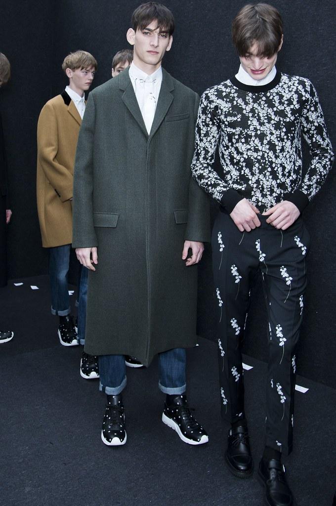 FW14 Paris Dior Homme250_Tommaso de Benedictis, Thibaud Charon, Alexander Ferrario(fashionising.com)