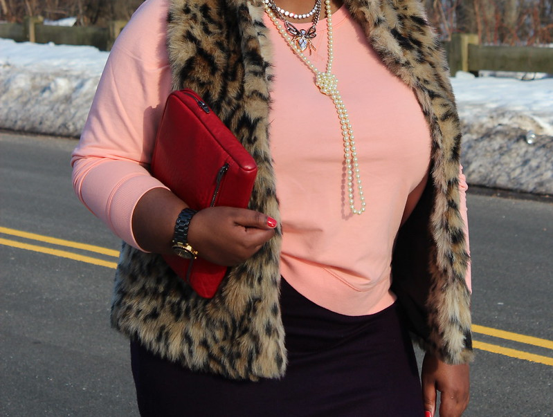 faux+fur+vest+midi+skirt+ipad+case