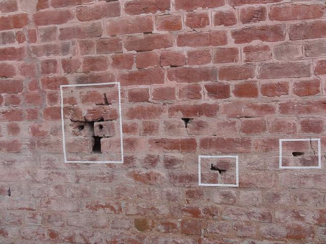 Bullet marks at Jallianwala Bagh, Amritsar
