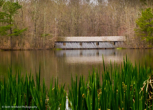 lake reflection water nikon huntsville alabama coveredbridge greenmountain huntsvillealabama d3100 nikond3100