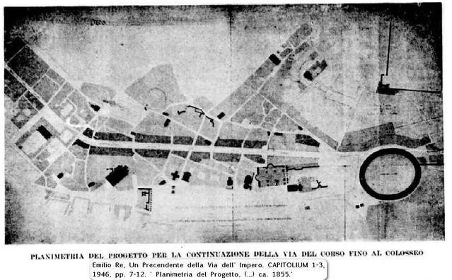 ROMA ARCHEOLOGIA e I FORI IMPERIALI: Progetto Fori & Marino - Il Manifesto | Il Messaggero (22|03|2014). | Roma, Via di Monti (1855?), in:  Capitolium 1-3, (1946).