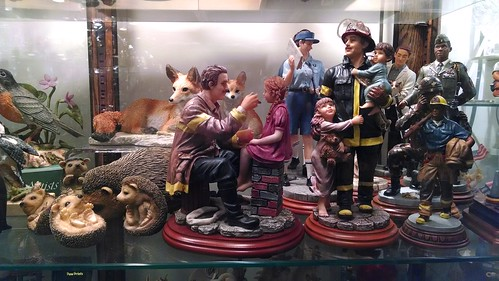 Figurines in a Gift Shop