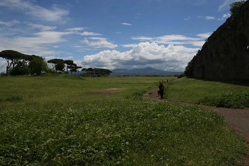 Parco degli Acquedotti: panorama