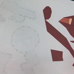 วิธีทำโมเดลกระดาษตุ้กตาคุกกี้รัน คุกกี้รสฮีโร่ (LINE Cookie Run Hero Cookie Papercraft Model) 001