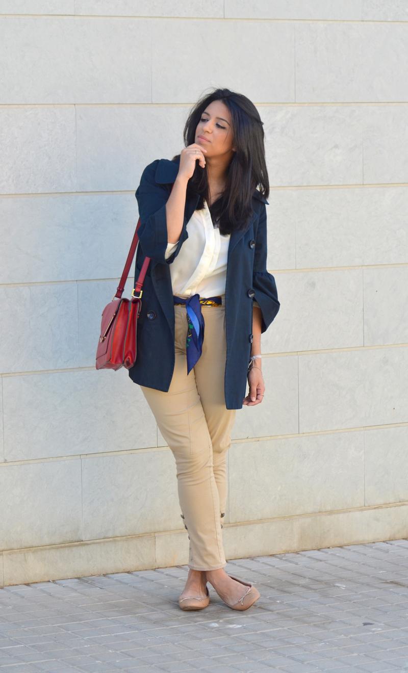florencia blog gandia como combinar complementos pañuelos estampados red box bag zara massimo dutti el corte ingles fashion blogger