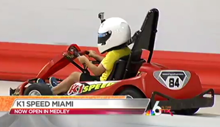 14008532340 0d43da574e b NBC 6 in the Mix visits K1 Speed Miami