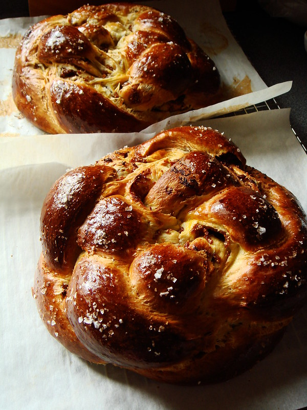 Olive Oil Fig Challah