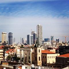 #telaviv #skyline from #jaffa #ilovetelaviv