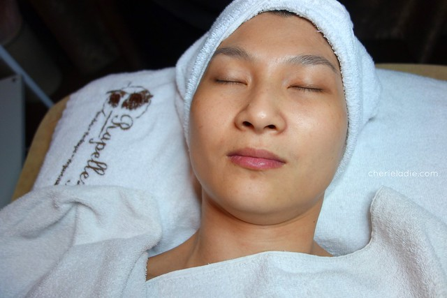 Clean face after Pore Refining Treatment