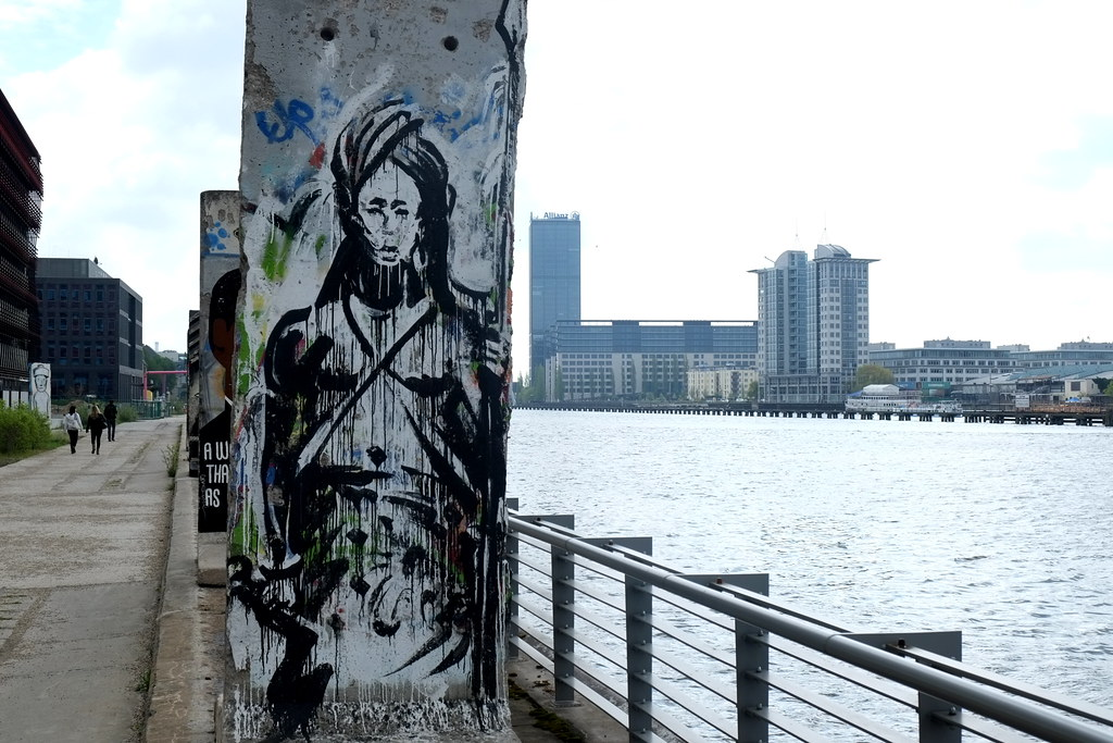 streetart | kouka | berlin . stralauer allee