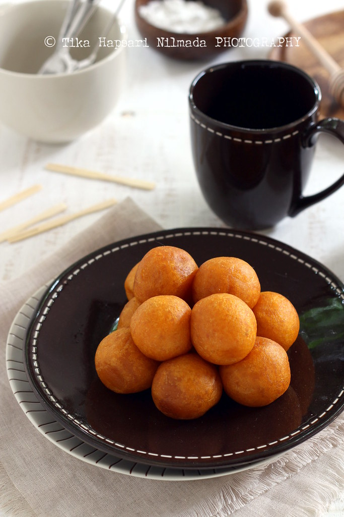 (Homemade) - Fried sweet potato balls