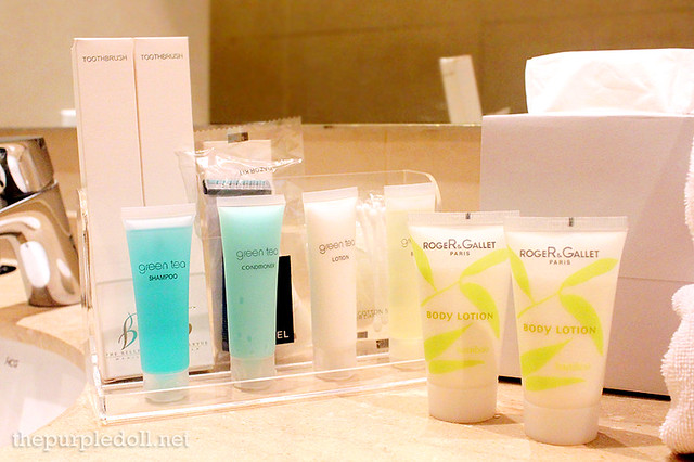 B Hotel Alabang Penthouse Suite Toiletries