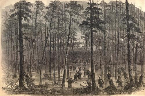 Weaver's Brigade crossingthe Salkehatchie