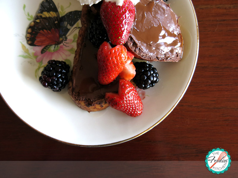 Chocolate French Toasts