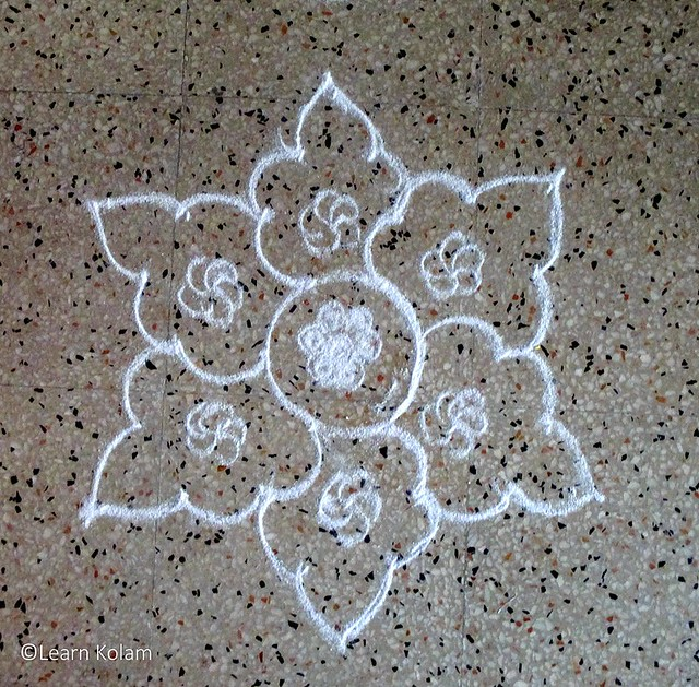 Apartment kolam designs