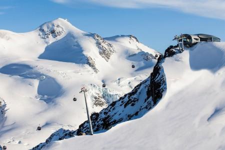 Lyžování v Rakousku – ledovec Pitztal