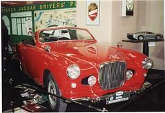 1952 Jaguar XK 120 by Ghia-Aigle of Switzerland