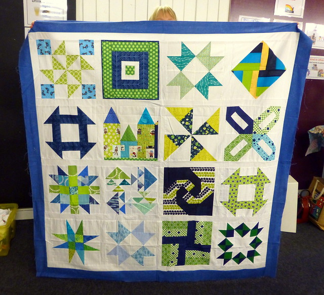 quilt tops donated to Bee Blessed