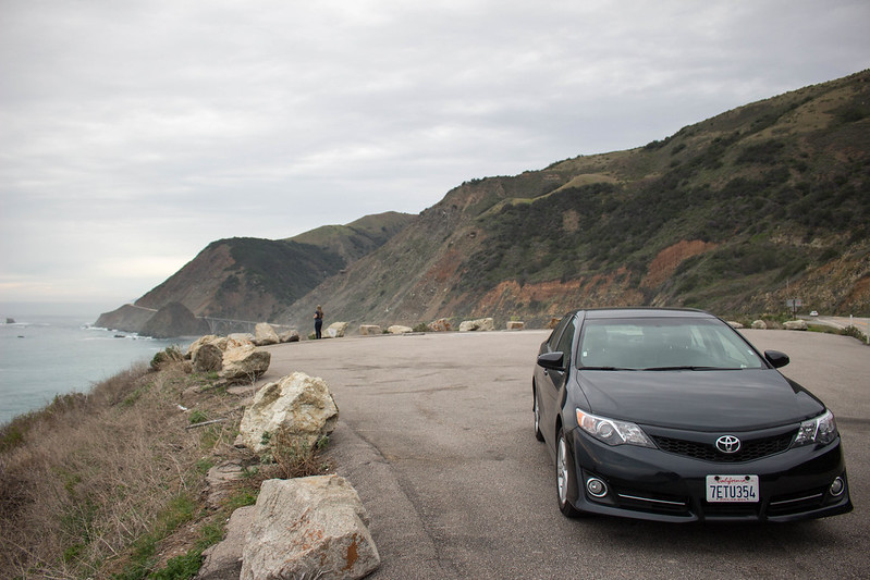 car, Pacific Coast Highway, California