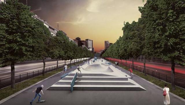 Skatepark Westblaak Rotterdam - Janne Saario