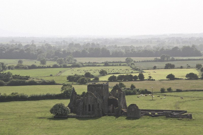 view from cashel rock