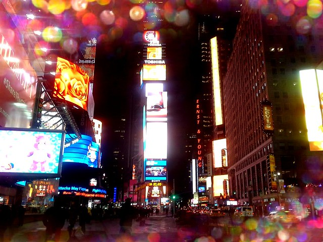 Times Square Magic Manhattan By Frankieleon Flickr