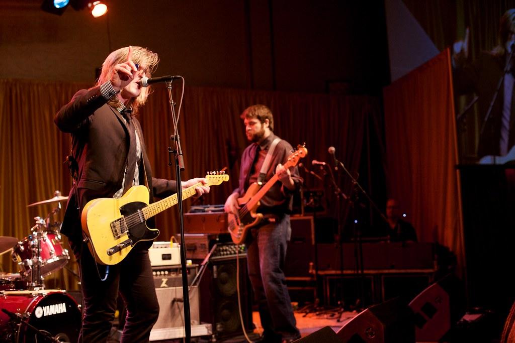 Matt Whipkey performing at the Omaha Entertainment and Arts Awards | Feb. 12, 2015