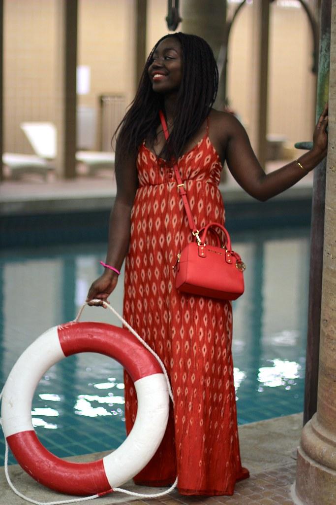 lois opoku esprit x caroline blomst swimwear collection launch lisforlois