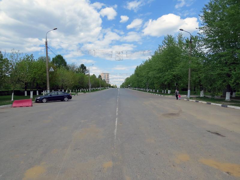 Перекрытый Октябрьский проспект