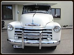Chevrolet 3100, 1950