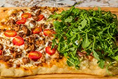 20160513 024 Chorizo and Arugula Prosciutto Egg Pi…