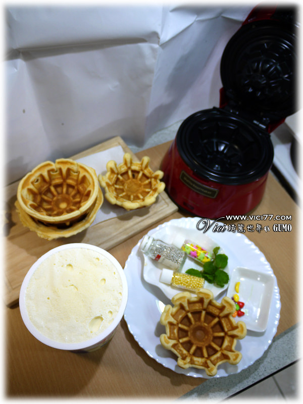 Waffle Bowl 杯子鬆餅機006