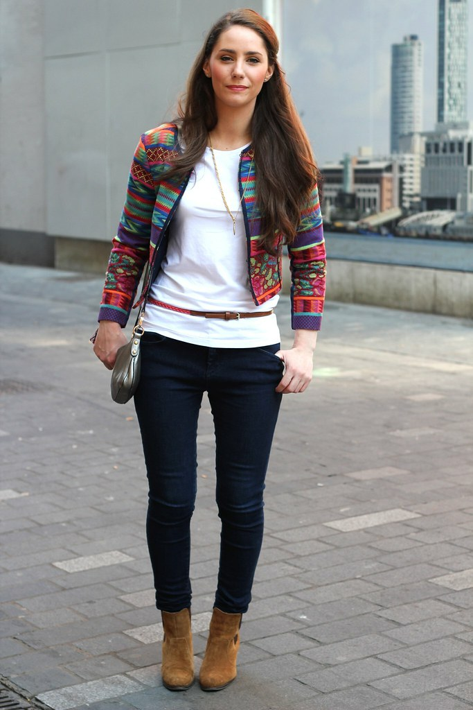aztec print jacket, aztec print blazer, printed blazer, tribal print blazer