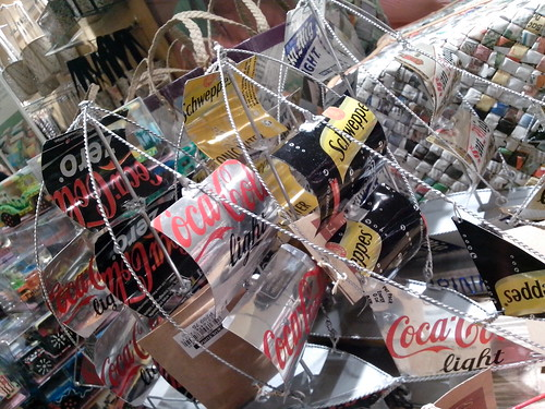 Crafts for a Cause: Ships with reused soda cans