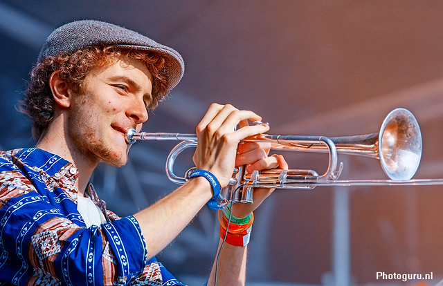 Bevrijdingsdag 2013 trompetist