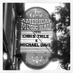 Thile & Daves, Great American Music Hall, 05-09-13